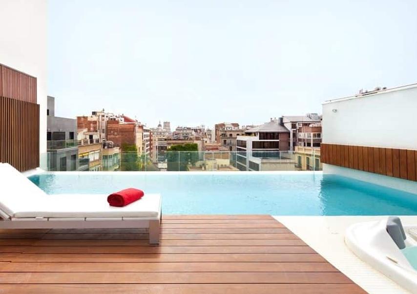 Séminaire Barcelone piscine