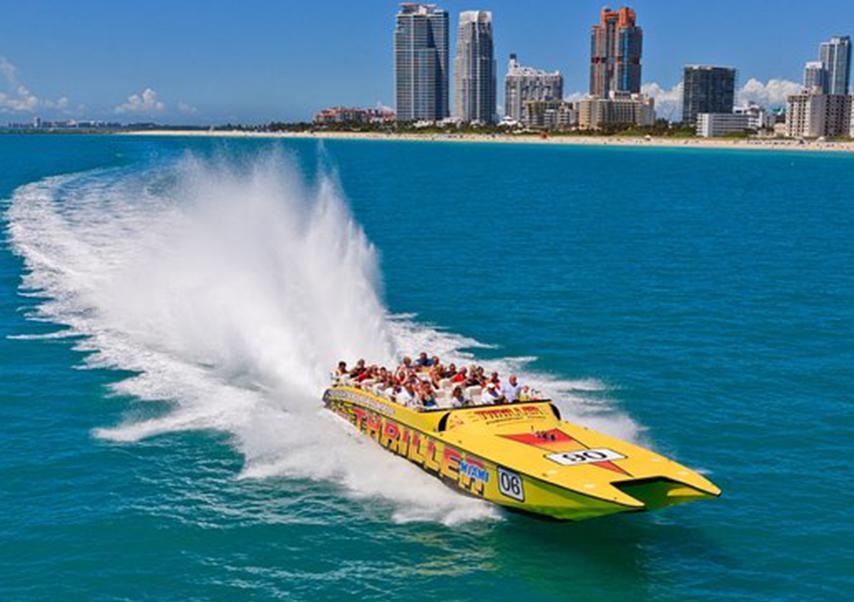 Séminaire Miami bateau