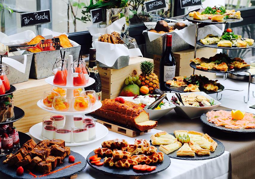 Séminaire à Bordeaux buffet