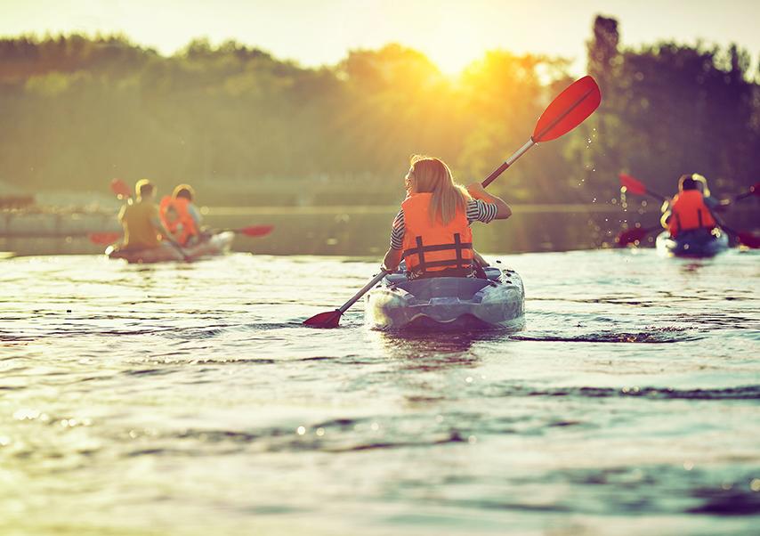 Séminaire à Porquerolles kayak