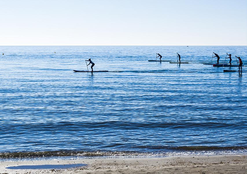 Séminaire à porquerolles paddle