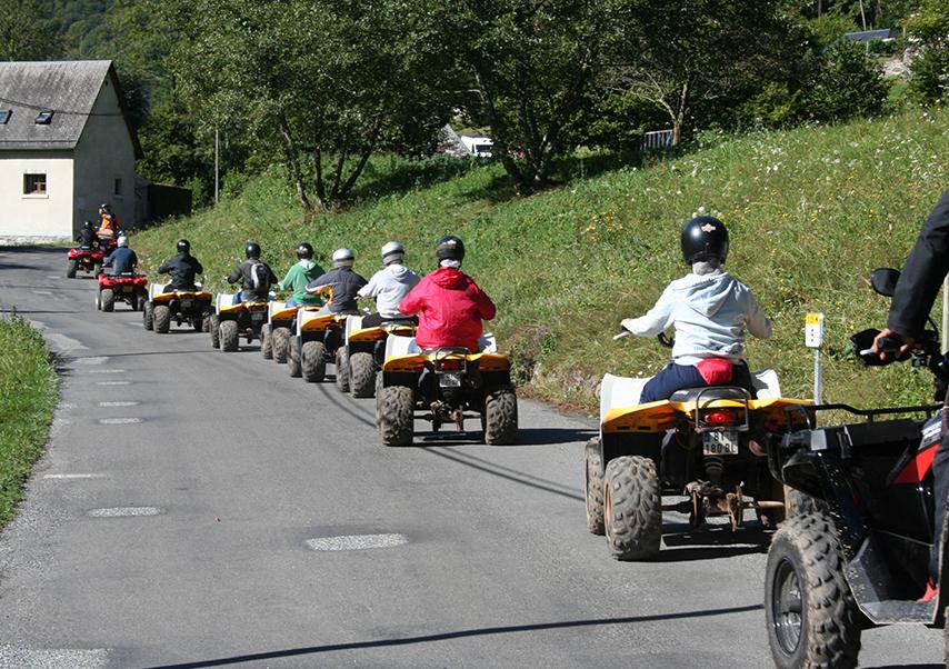 Séminaire dans les Pyrénées quad
