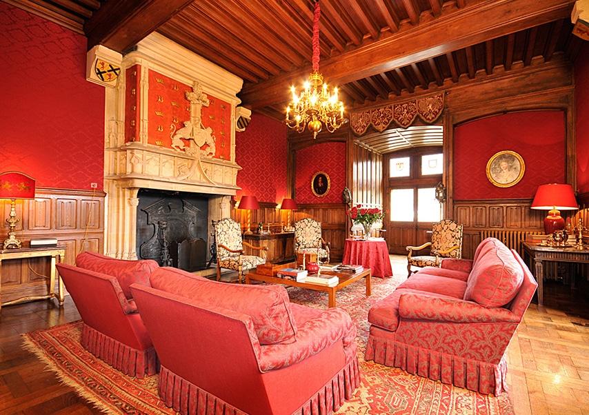Séminaire de direction dans un chateau privatisé salon
