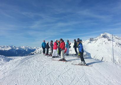 Ski groupe entreprise font romeu