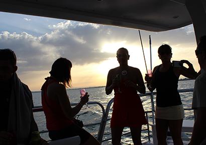 Soirée Privée entreprise Catamaran 4