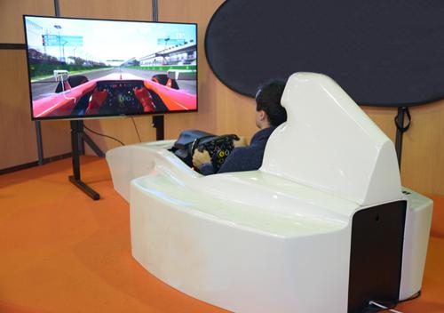 Soirée entreprise avec simulateur de Formule 1