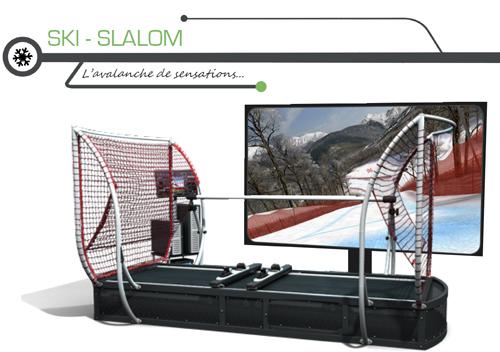 Soirée entreprise avec simulateur de ski