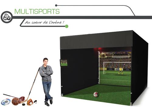 Soirée entreprise avec simulateur multi-sports