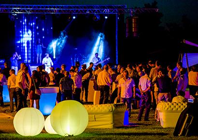 Soirée garden party entreprise Toulouse 3