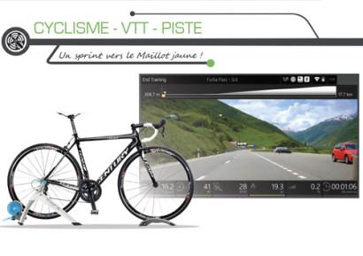 Soirée entreprise simulateur cyclisme