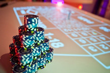 Soiree animation casino lumineux