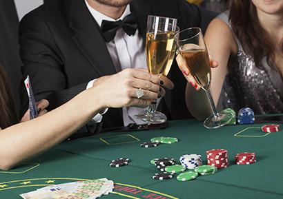 Soiree casino fictive entreprise