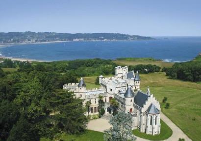 Soiree entreprise Chateau observatoire d'Abbadia à Hendaye
