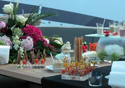 Soiree entreprise Yacht Cannes