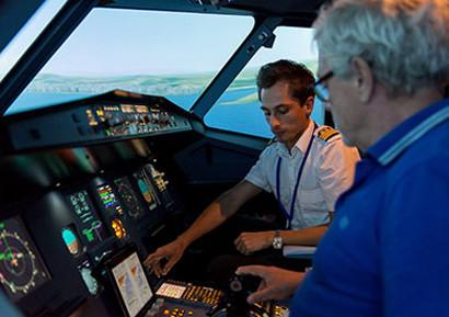 Soiree entreprise simulateur de vol Airbus A320