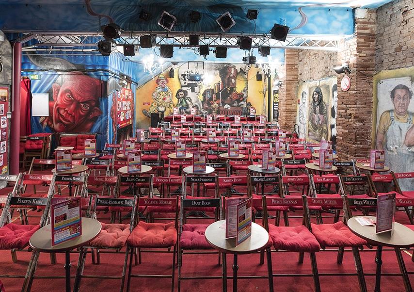Soirée entreprise théâtre privatisé salle 2