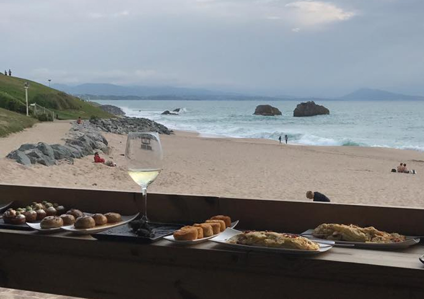 Soirée groupe pays basque diner