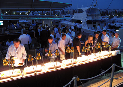 Soiree privee entreprise Yacht Cannes