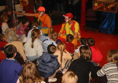 Spectacle de clowns pour enfants 2