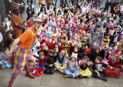 Spectacle de clowns pour enfants Toulouse