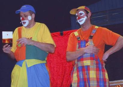 Spectacle de clowns pour enfants