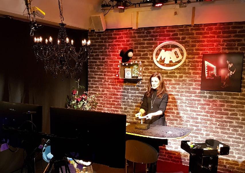 Spectacle de magie en streaming live mao