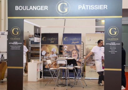 Stand traditionnel boulangerie