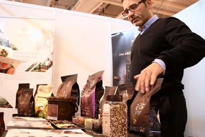 Stand traditionnel chocolat