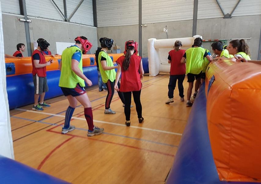 Team building solidaire sportif cecifoot