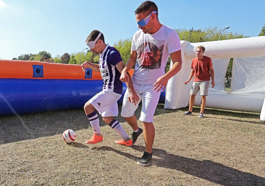 Team building solidaire sportif cecifoot2