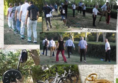 Team Building dans la forêt de Bouconne