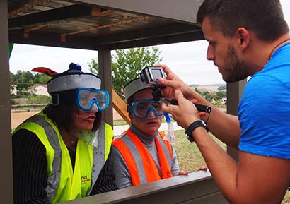 Team buildind vidéo gopro