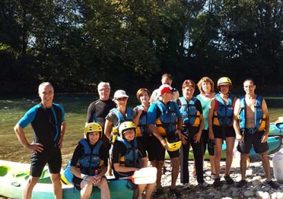 Team building Canoe Kayak