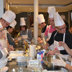 Team building Toulouse cours de patisserie