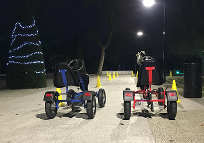 Team building challenge kart à pédales