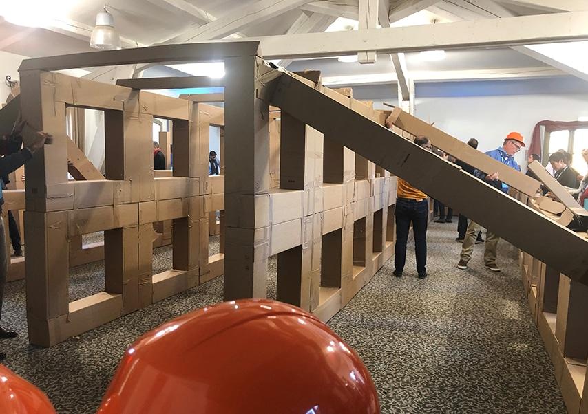 Team building construction maison 1