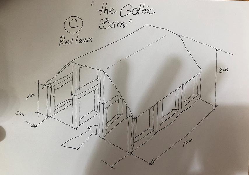 Team building construction maison