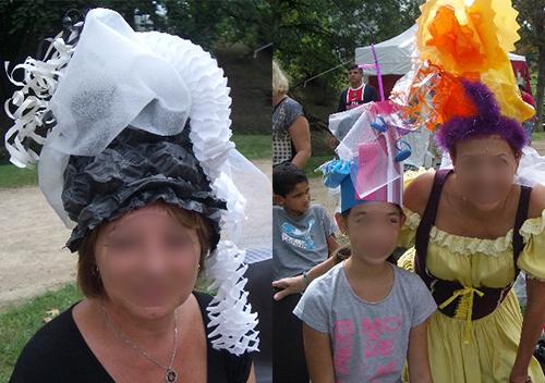 Team building créatif entreprise création de chapeaux
