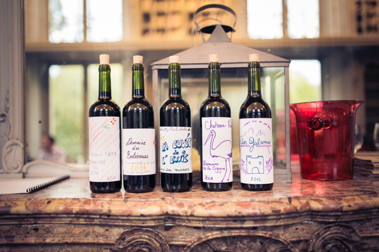 Team building création vin bouteille