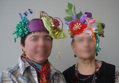 Team building créatif création chapeau
