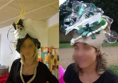 Team building créatif creation de chapeaux