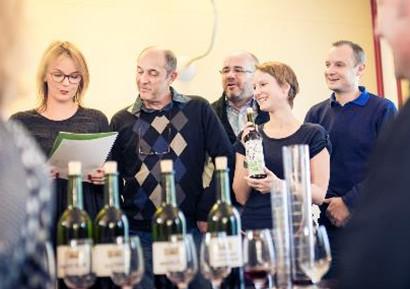 Team building création vin participants
