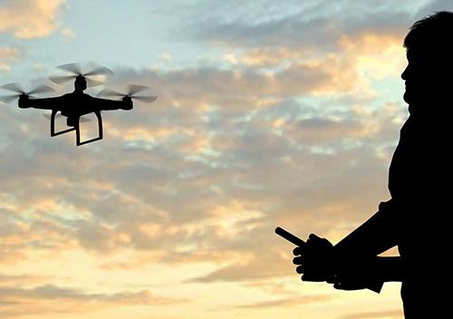 Team building drones vol extérieur