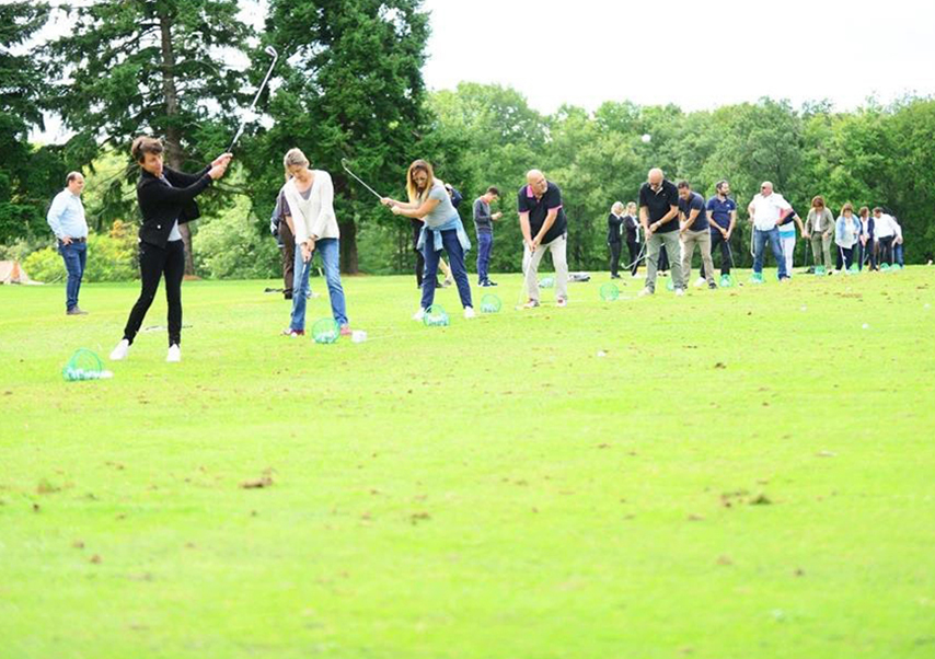 Team building golf entreprise