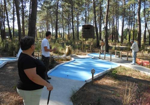 Team building mini-golf entreprise