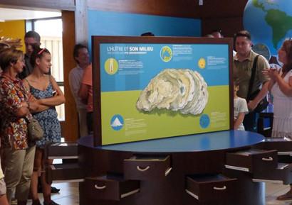 Team building mini-golf visite musée de l'huître