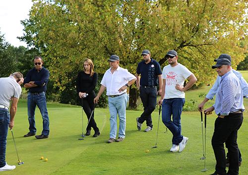 Team building multi-activités golf