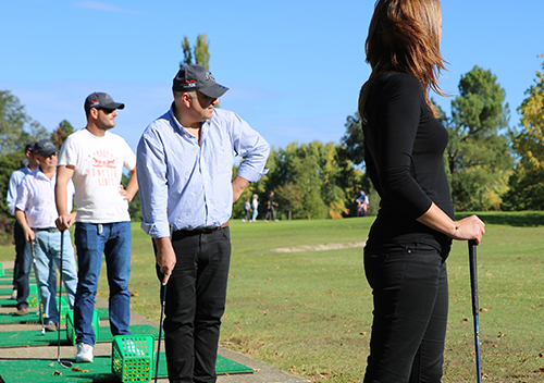 Team building multi-activités initiation golf