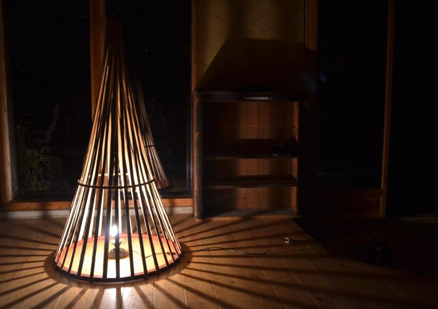 Team building oeuvre d'art bambou