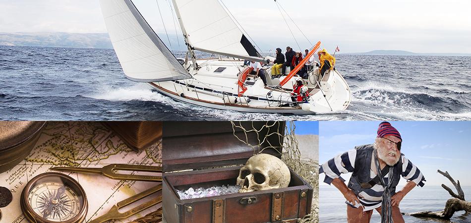 Team building régate en voilier avec challenges chasse au trésor